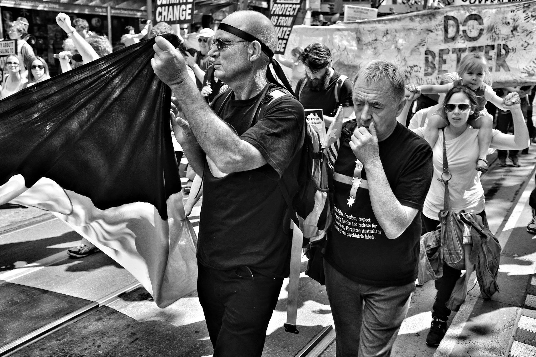March in March Street portrait photography by Shane Nagle: March in March, Melbourne