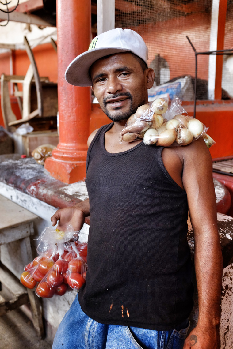 The beautiful market people of Granada, Nicaragua