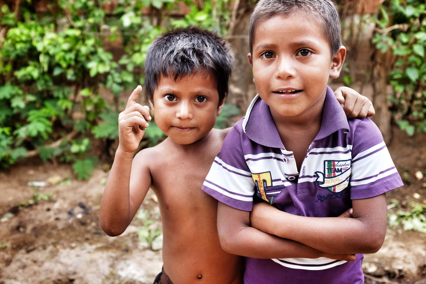 The beautiful children of Granada, Nicaragua