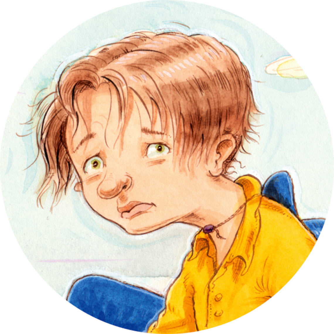 sad boy Childrens Commercial Illustration