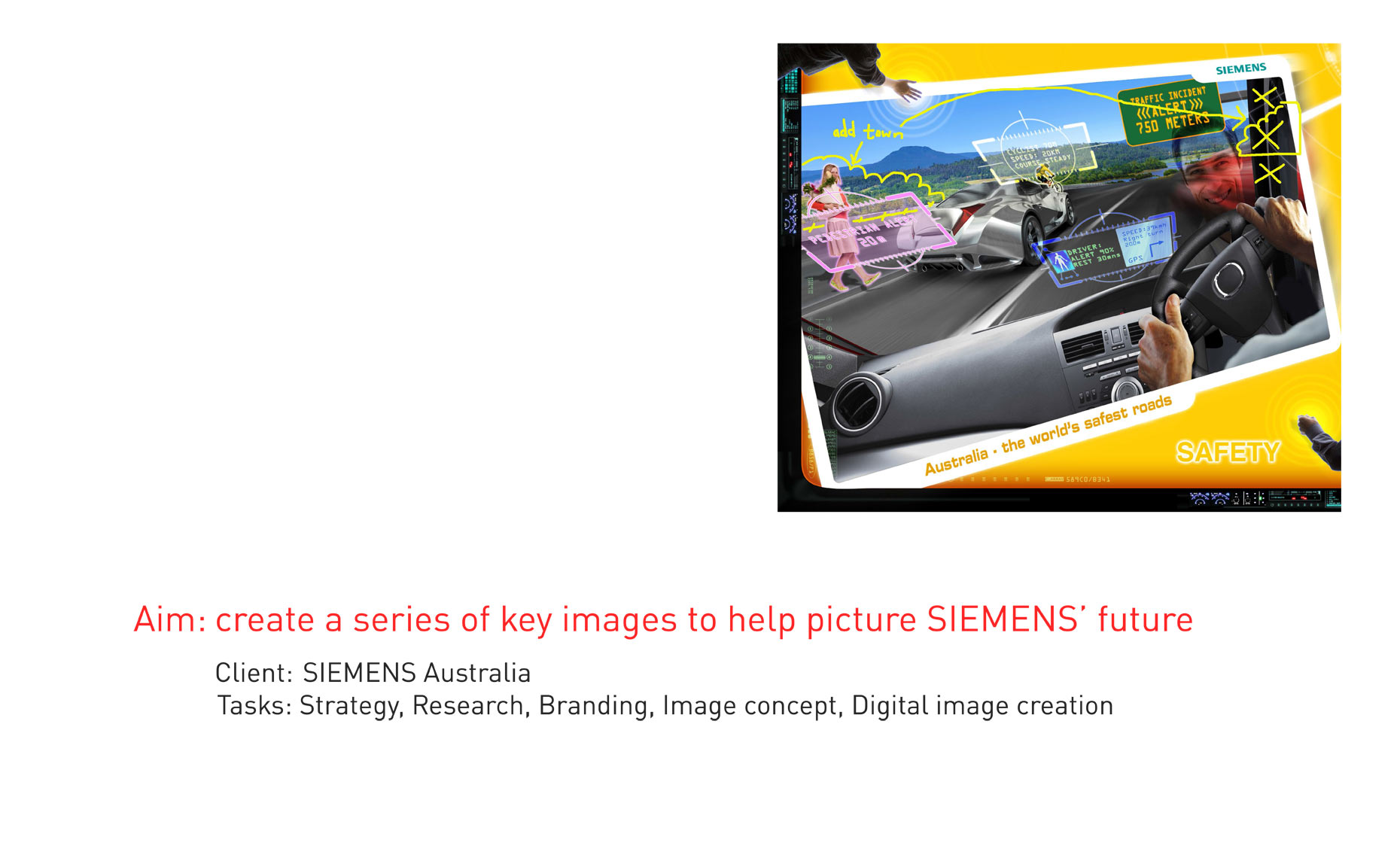 Siemens Picture the Future communication design photoshop expert
